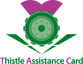 The Thistle Assistance Card & App